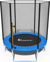 Funfit Trampolina ogrodowa dla dzieci z siatką zewnętrzną 183cm