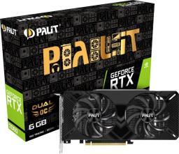 Karta graficzna Palit GeForce RTX 2060 Dual OC 6GB GDDR6 (NE62060S18J9-1160A)
