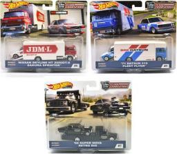 Hot Wheels Pojazdy Transportowe  50 rocznica (FLF56)