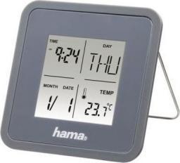 HAMAR Multi alarm clock szary