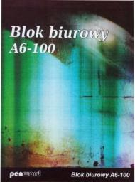 Blok biurowy Polsirhurt Blok biurowy Polsirhurt A6 100 KARTEK ( 5901812784018 )