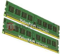 Pamięć Kingston ValueRAM, DDR3, 4 GB, 1333MHz, CL9 (KVR1333D3S8N9K2/4G)