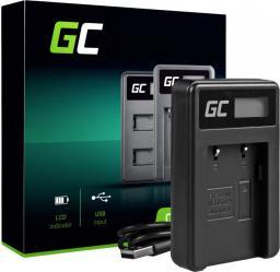 Ładowarka do aparatu Green Cell CB-2LW Green Cell ® do Canon NB-2L / NB-2LH, PowerShot G7 G9 S70 S80 R100 R11 Canon Elura 85 90 EOS 350D 400D (ADCB06)