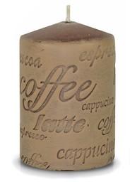 Art-Pol Świeca brązowa - Coffee Walec Mały (103192)