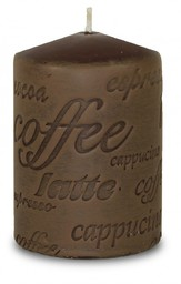 Art-Pol Świeca brązowa Coffee Walec Mały (103198)