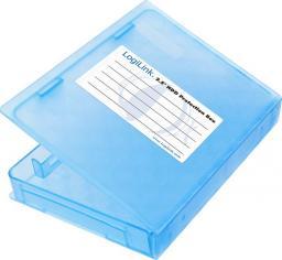 """LogiLink Pudełko ochronne do HDD 2.5"""" niebieskie UA0131"""