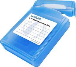 """LogiLink Pudełko ochronne do HDD 3.5"""" niebieskie (UA0133)"""