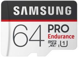 Karta Samsung MicroSDXC Pro Endurance 64GB + Adapter (MB-MJ64GA/EU)