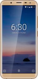 Smartfon Kruger&Matz Live 6+ 64GB Złoty (KM0454-G)