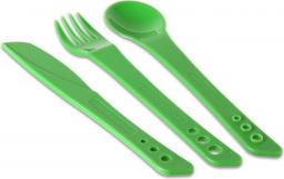 Lifeventure Ellipse Cutlery Set Green (LM75020)