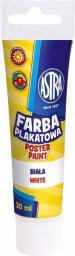 Astra Farba plakatowa Tuba 30 ml biała (83110904)