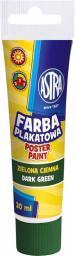 Astra Farba plakatowa Tuba 30 ml ciemnozielona (83110906)