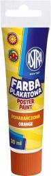 Astra Farba plakatowa Tuba 30 ml pomarańczowa (301107001)