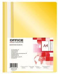 Skoroszyt Office Products A4, żółty (21101111-06)