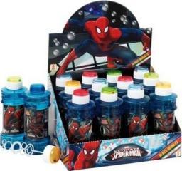 Brimarex Bańki mydlane 300ml Spiderman 12 sztuk