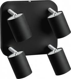 Nowodvorski Plafon Eye Spot Black 4x35W, GU10, czarny (6022)