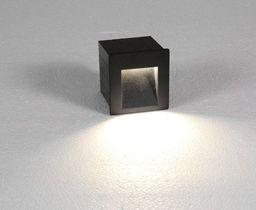 Nowodvorski Kinkiet podtynkowy zewnętrzny Nowodvorski Step 1x3W LED IP44 grafit 6907 - 6907