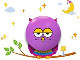 Milagro Lampa sufitowa Owl LED (112)