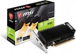 Karta graficzna MSI GeForce GT 1030 2GHD4 LP OC 2GB DDR4 64bit HDMI+DP PCIe 3.0 (GT 1030 2GHD4 LP OC)