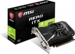 Karta graficzna MSI GeForce GT 1030 AERO ITX 2GD4 OC 2GB DDR4 64bit DVI+HDMI PCIe3.0 (GT 1030 AERO ITX 2GD4 OC)