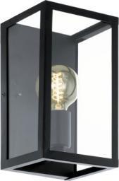 EGLO lampa ścienna Charterhouse 1x60W E27 czarna (49394)