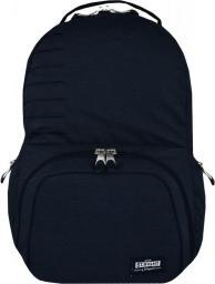 St. Majewski Plecak Stright BP-35 Navy Melange + kieszeń na laptopa (270716)