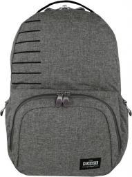 St. Majewski Plecak Stright BP-35 Light Gray Melange + kieszeń na laptopa (270714)