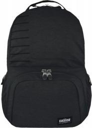 St. Majewski Plecak 3-komorowy Dim Gray Melange + kieszeń na laptopa (270712)
