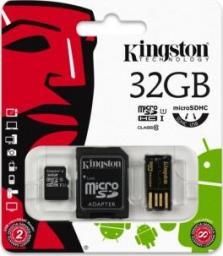 Karta MicroSD Kingston 32GB (MBLY10G2/32GB)