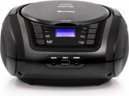 Radioodtwarzacz Vakoss Boombox z CD/ FM/ USB/ wyświetlacz LCD, czarny (PF-6542K)