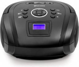 Odtwarzacz MP3 Vakoss Boombox z Bluetooth/ FM/ USB/ Micro SD/ wyświetlacz LCD, czarny (PF-6538K)