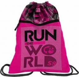 Paso Worek na buty premium Barbie różowy  (283301)