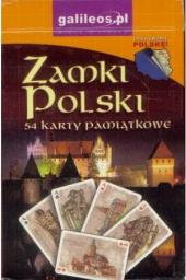 Plan Karty pamiątkowe - Zamki Polski (277732)