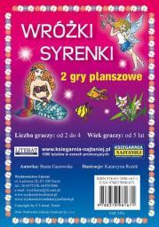 LITERAT Zestaw gier planszowa Wróżki- Syrenki (280970)