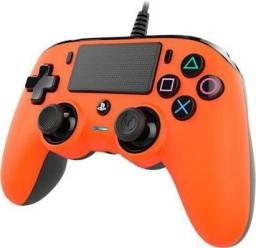 Gamepad Nacon Compact controller pomarańczowy (PS4OFCPADORANGE)