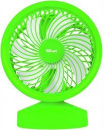 Wentylator USB Trust Wentylator Ventu USB,  neonowy zielony (22581)