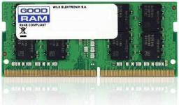 Pamięć do laptopa GoodRam DDR4 SODIMM  8GB/2666 CL19 (GR2666S464L19S/8G)