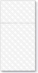 Art-Pol Pl Serwetki Pocket Inspiration Modern White (242068)