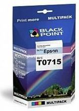 Black Point tusze  BPE T0715 / C13T071540 / T0715 (cyan, magenta, yellow, black)
