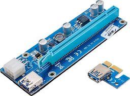 Akyga Riser PCI-E 1x - 16x USB 3.0 (AK-CA-64)