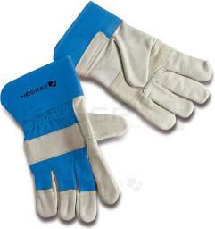 HOGERT TECHNIK Rękawice robocze 10.5 z usztywnionym mankietem ze skóry bydlęciej HT5K214 - HT5K214