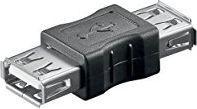 Adapter USB Goobay USB A - USB A Czarny (50293)