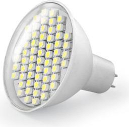 Whitenergy Żarówka LED GU5.3,  SMD3528, 3W, 230V, ciepła biała (04921)
