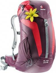 Deuter Plecak turystyczny AC Lite 22L Aubergine-Fire (342021655220)