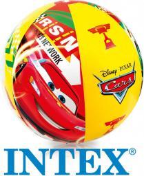 Intex Piłka Plażowa Cars 61 cm