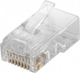Goobay Wtyk teleinformatyczny RJ45 kat.5e UTP 10szt.  (72500)
