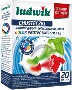 Ludwik Chusteczki zapobiegające zafarbowaniu ubrań