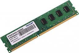 Pamięć Patriot Signature, DDR3, 4 GB,1600MHz, CL11 (PSD34G16002)