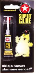 Bripox Klej Super Glue 2g (5907604332078)