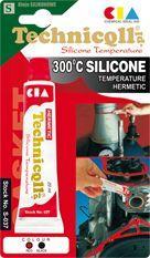 Technicqll Silikon wysokotemperaturowy 300C 20ml czerwony (3390#)